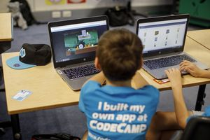 Kinder Code Camp in Zürich